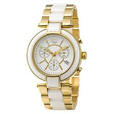 Esprit Collection Ladies Wrist Watch Physical Health Chronograph Rose Gold