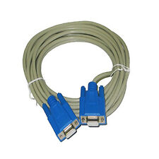 15Ft RS232 D-Sub DB9 Female to Female Serial Data / Modem Cable