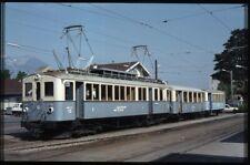 35mm slide Switzerland ASD Chemin de fer Aigle-Sépey-Diabrelets 12 Aigle1970/80s