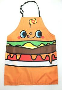 Dokidoki Yummychums Hamburger Sanrio Hello Kitty Chef Apron LootCrate Exclusive