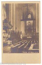 AK Danzig -- Marienkirche Innen -- um 1940