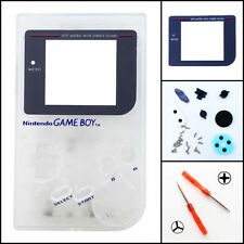Nintendo Game Boy Original DMG-01 Housing Shell GLASS Screen Lens Clear
