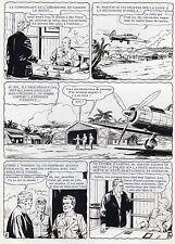 MELLIES : BIGGLES EN AFRIQUE SUPERBE PLANCHE ORIGINALE ARTIMA PAGE 6