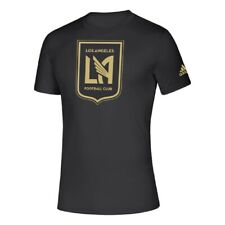 Los Angeles FC MLS Logo Performance Short Sleeve LAFC Climalite Tee Adult XXL
