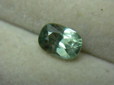 rare Fancy Green Sapphire gem Ceylon Sri Lanka natural Gemstone Cushion 1.00ct