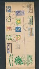 XC21321 Cook Islands 1963 registered FDC used