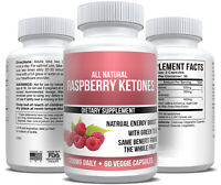 Raspberry Ketones Extract Keto Fat Burner MAX Weight Loss Supplement Ketone Pure