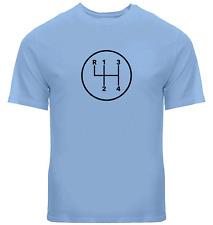 Manual Transmission Shift Pattern 4 Speed Stick Unisex Shirts Mens Tee T-Shirt
