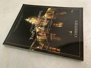 Christie's auction catalogue: Yves Saint Laurent Deuxieme Vente 2009