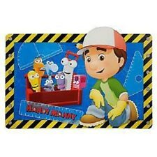 HANDY MANNY~PLACE MAT~Felipe+Pat+Squeeze+Stretch~Squeeze+Dusty~NWT~Disney Store