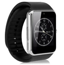Dorado Bluetooth pulsera reloj + cámara móvil sim gt08 para Ios android iphone