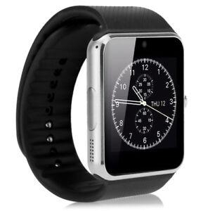 Smartwatch Bluetooth Armband Uhr + Kamera SIM Handy GT08 für iOS iPhone Android