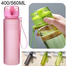 Sport Water Bottle Leakproof BPA Free Fitness Running Gym Bottles Mugs 400/560ml