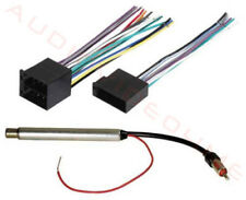 1999-2002 Volkswagen VW Jetta Wire Harness+Antenna Adapter 2000 2001 99 00 01