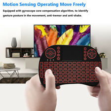 2.4 GHz Wireless Keyboard Touchpad Mouse Mini For Android Smart TV BOX PC Tablet