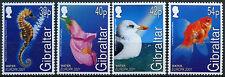 Gibilterra 2001 sg#968-971 EUROPA, Acqua & NATURA Gomma integra, non linguellato Set #d18266