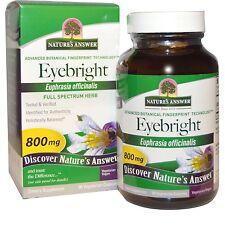 Eyebright Herb, 90 Vegetarian Capsules - Nature's Answer