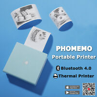 Phomemo Portable Bluetooth 4.0 Photo mini Printer for Android IOS Mobile Tab