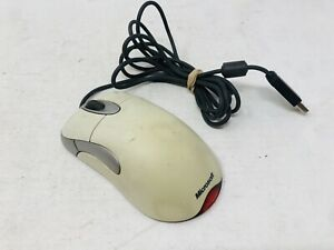 Microsoft IntelliMouse Optical USB and PS/2 Compatible Mouse 5V TESTED & WORKS