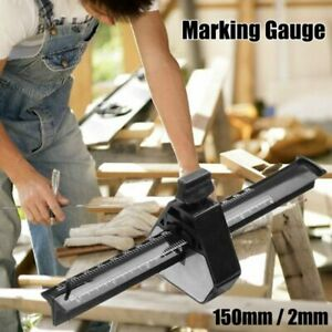With Scale Scraper Woodworking Carpentry Parallel Scriber Mortise Marking Gauge