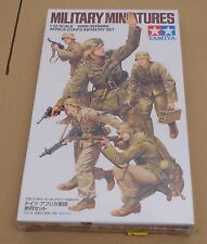 Tamiya 35314 1:35 WWII German Africa Corps Infantry Model kit / Maquette