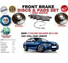 für BMW 3 F30 F80 Limousine ab 2011 312mm Vorderbremse Scheibensatz+BELÄGE SET