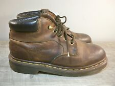 Dr. Martens Doc England Vintage Aztec Brown Leather Women's Boots Size UK 5 US 7