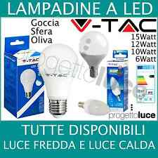 Lampada LED E14 6w equivalente 40w VTAC 6000k - bianca