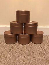 6 x Rosegold Seamless Tins 100ml