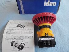 22mm Emergency Stop, 1NO/3NC, Push-Pull/Turn to Release, IDEC P/N: XW1E-BV513M-R