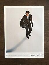 Vintage 2008 GQ Magazine not Vogue Art Advert Ad Picture Louis Vuitton
