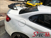 R1 Style Carbon Fiber Trunk Wing Spoiler for BMW F87 M2 CF 2014-2019