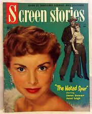 JAMES STEWART & JANET LEIGH COVER 1953 SCREEN STORIES PETER PAN GRACE KELLY