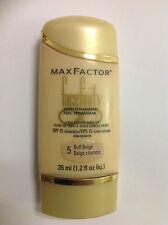 Max Factor Facefinity Foundation SPF 15, Buff Beige - 1.2 fl oz NEW.