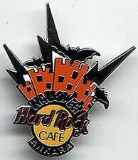 Hard Rock Cafe ANKARA 1998 HALLOWEEN PIN Skyline BATS LE 1000 HRC Catalog #293