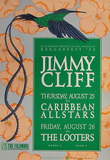 JIMMY CLIFF, CARIBBEAN ALLSTARS, THE LOOTERS Reggaefest 1988 DR. BIRD Fillmore