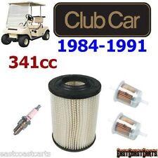 Club Car 1984-1991 Tune Up Kit : Air Filter, Fuel Filter, Spark plug 1013379