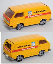 Siku Super 1331 VW Transporter Typ 2-T3, BOSCH / DIENST / schöneborn Werbemodell