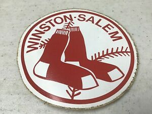 Winston-Salem Red Sox Minor League Baseball Sticker Vintage