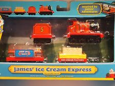 BRAND NEW Take Along/Take-n-Play Thomas 'JAMES' ICE CREAM EXPRESS' - FREE P&P!