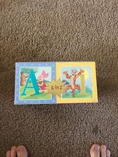 Disney Pooh & Friends Tigger Learning is Fun Abc 123 Card Set