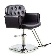 Black Hydraulic Styling Barber Chair Hair Spa Beauty Salon Equipment