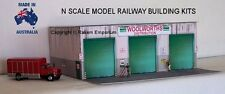 N Scale Warehouse Distribution Woolworths Model Railway Building Kit - NWWH
