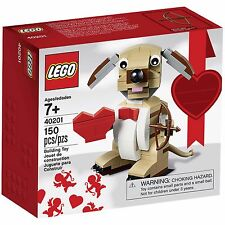 LEGO Valentines Cupid Dog 40201 Heart Toys I Love You Gift Building Blocks Kids