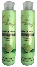 2x Shampoo BERGAMOTA & Keratin Bergamot Stop Hair Loss Stimulate Growth 16.23oz