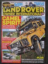 Land Rover Owner International July 2018 Camel Defender TDCi Range Rover Ser III