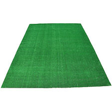 Artificial Lawn Grass Area Rug 10'x10' Green Turf Square Carpet Home Pet Sports