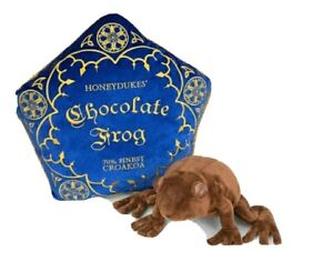 Harry Potter⚡Noble Collection Chocolate Frog Plush and Pillow UK Seller 🇬🇧