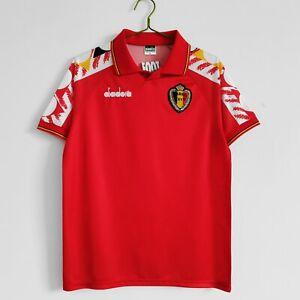 Belgium retro shirt 1995 home jersey S-2XL