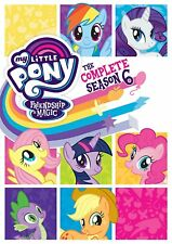 My Little Pony Friendship Is Magic Complete Sixth Season 6 Six NEW 4-DISC DVD SE